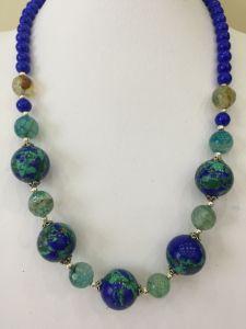 """Ожерелье из варисцита Ожерелье """"Древо жизни"""""""