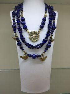 "Ожерелье из латуни Ожерелье ""Этно Мир"" 4"