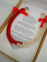 """Ожерелье """"Шанель коралл"""""""