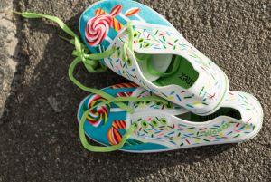 """Женская обувь Слипони """"Конфетка"""""""