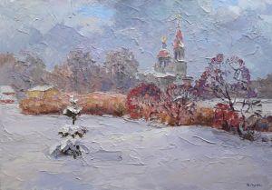 "Original artworks ""Біля церкви"""