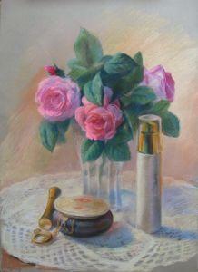 Картини графіка Чайні троянди