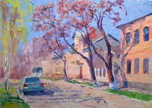 """Нарисованные картины """"Улица"""""""