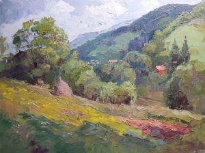"""Мальовані картини """"Гірські простори"""""""