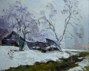 """Мальовані картини """"Зимовий вечір"""""""