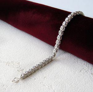 Срібний браслет ланцюжок
