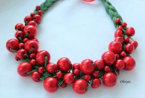 Beaded necklaces Намисто Olviyes