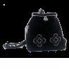 Вышитый наплечник  искусственный мех, шелков Соколова Светлана - фото 1
