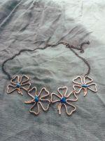 """Ожерелье с лазуритом """"Поле цветов"""""""
