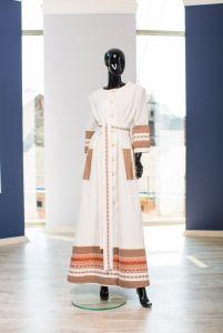 """Платье """"Белый Халат"""""""
