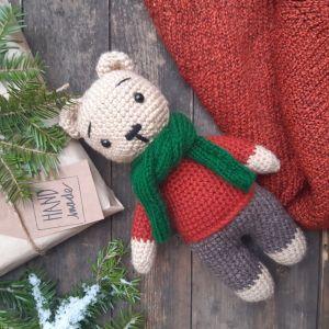 Куклы ручной работы Медвежонок Феликс
