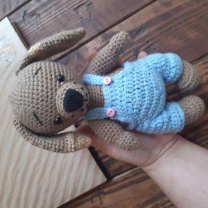 Куклы ручной работы Авторская игрушка Пёс Барбос