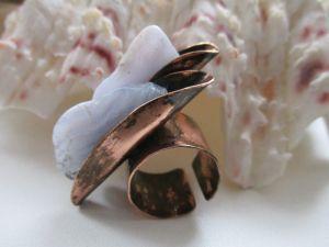 Кольца ручной работы Кольцо Айсберг