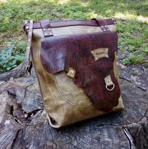 Жіночі сумки ручної роботи Шкіряна сумка «Grande»