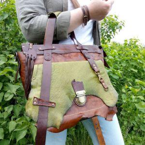 Женские сумки ручной работы Кожаная сумка «Primavera»