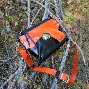 Женские сумки ручной работы Кожаная сумка «Tanagra»
