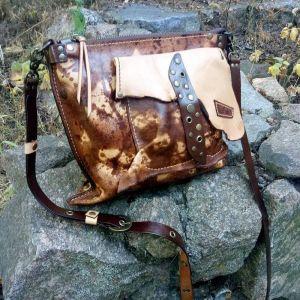 Жіночі сумки ручної роботи Шкіряна сумка «Expression»