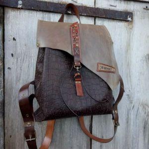 Рюкзак ручной работы Кожаный рюкзак «Kenya»