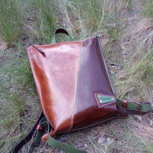 Рюкзак ручной работы Кожаный рюкзак «Pine»