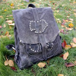 """Рюкзак ручной работы Кожаный рюкзак """"Stone"""""""