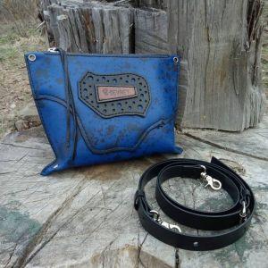 """Жіночі сумки ручної роботи Шкіряна сумка-клатч """"Avatar"""""""
