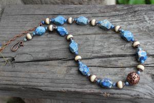 Ожерелье с варисцитом