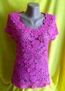 Блузки ручной работы Мари