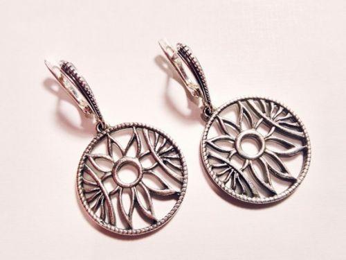 Серебряные серьги