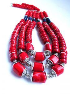 "Ожерелье из коралла Ожерелье ""Индия"""
