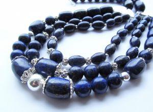 Ожерелье из лазурита Лазурит