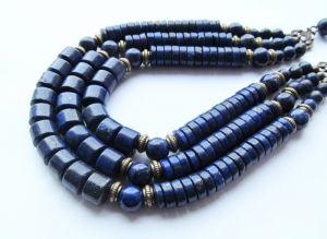 Ожерелье из лазурита Ожерелье