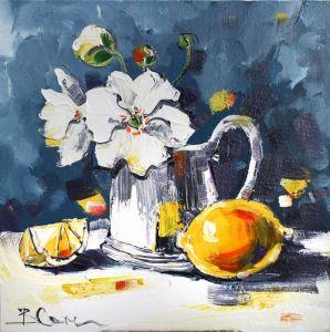 Суханова Виктория Натюрморт с лимоном