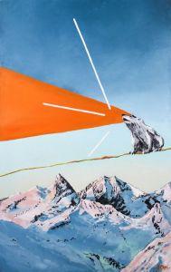 Картины маслом Картина маслом горы медведь экология