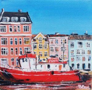 Картины маслом Картина маслом Копенгаген Дания
