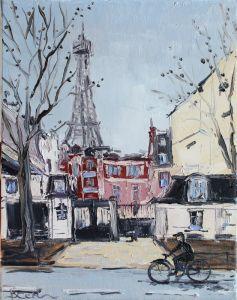 Картины маслом Картина Париж