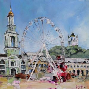 Картини маслом Поділ, Київ