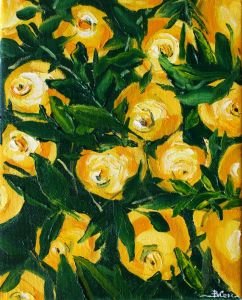 Картини маслом Лимони
