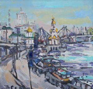 Картини маслом Почтова площа Київ