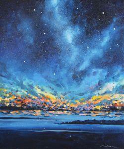 Картини маслом Небо