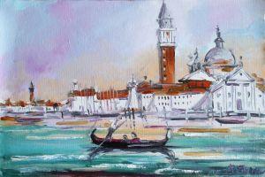 Картини маслом Венецiя