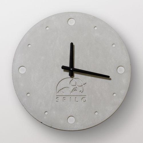 """Часы из бетона настенный """"Стокгольм"""""""