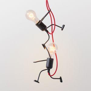"""Светильники ручной работы Люстра """"Ironman friends"""" на две лампочки"""