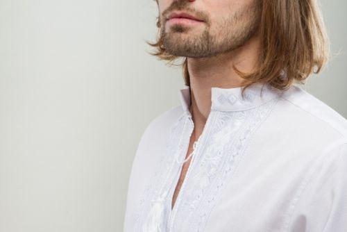 Вышивка Орий белый