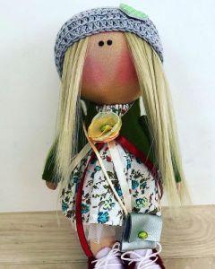 Куклы ручной работы Текстильная кукла
