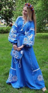 """Платье Бохо """"Голубая мечта"""""""