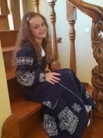 Платье Бохо детское