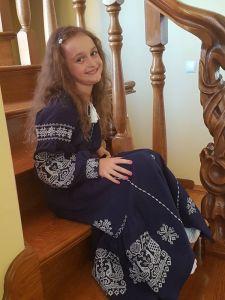 Тесленко Инна Платье Бохо детское