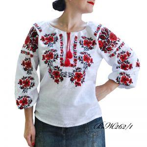 Рубашка с вышивкой крестиком ВЖ262/1