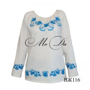 Женские вышиванки Рубашка с вышивкой ВЖ116
