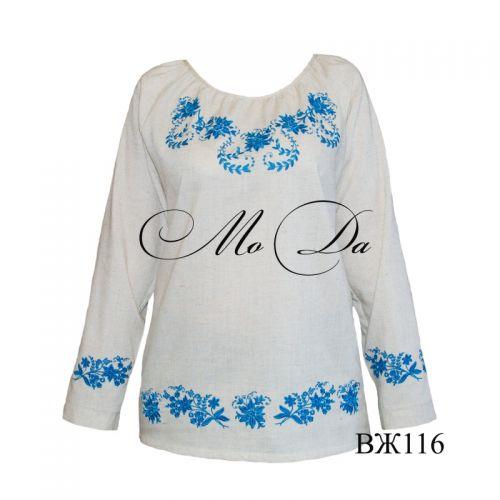 Рубашка с вышивкой ВЖ116